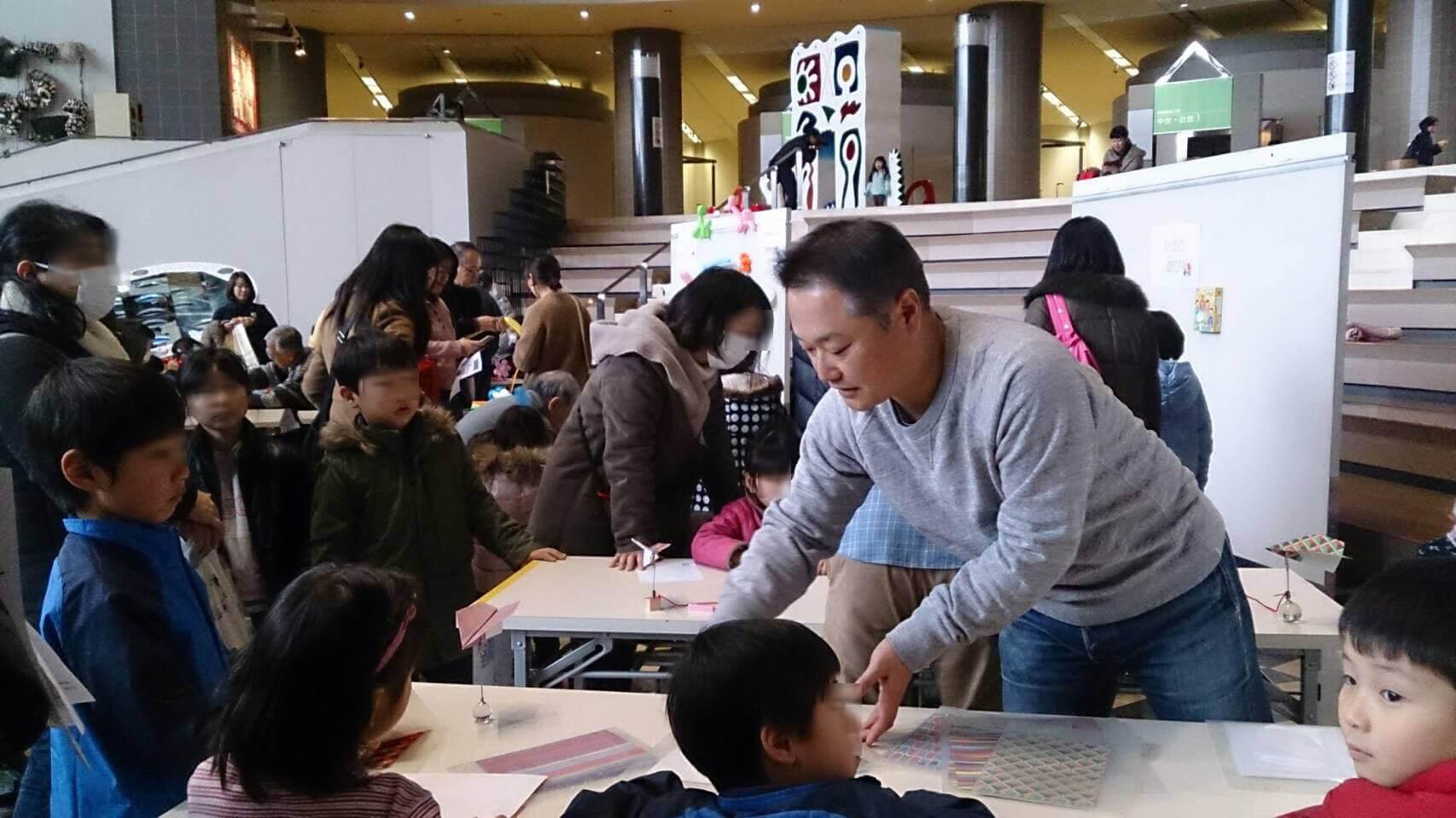 川崎パパ塾。今年も活発に活動しています。<お正月deミュージアム2019>