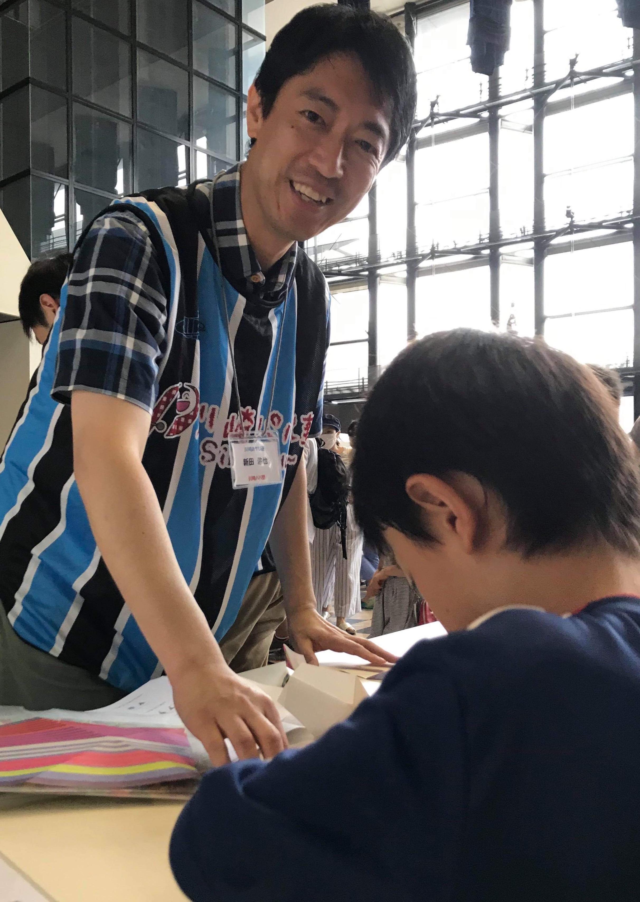 川崎おやじ連主催のおやじdeミュージアム。とてもハードルの低い地域参加でした。