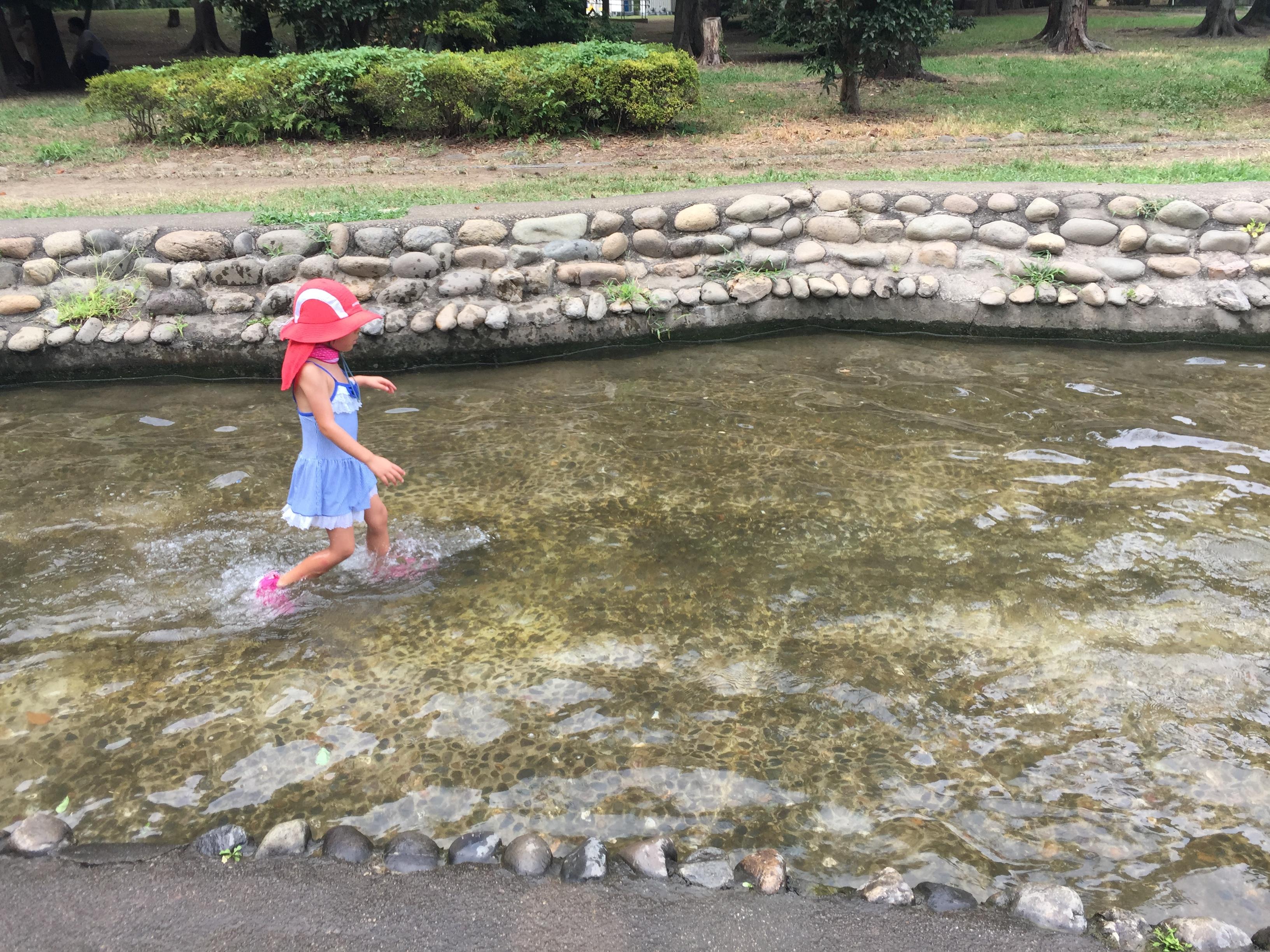 水遊び楽しかった〜(勇気づけ学園幼児部のサマーキャンプに参加して)