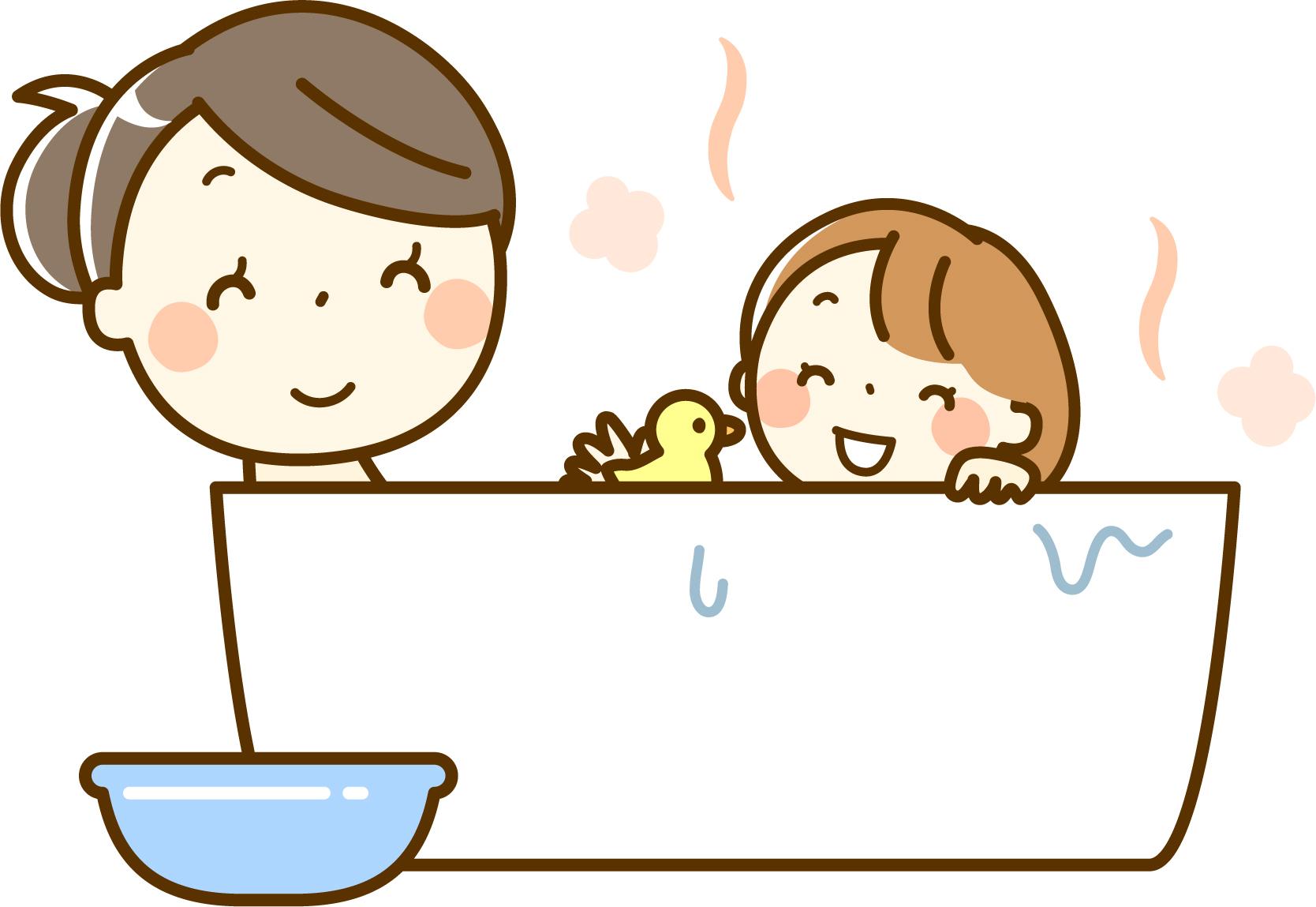 お風呂入れ前に機嫌が悪くなっていた娘への形勢逆転の一言