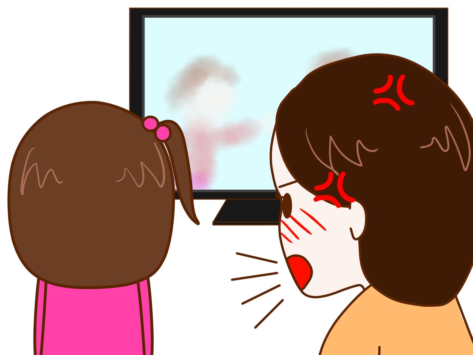 今更ながら大発見!テレビに夢中の子供に効果があった話しかけ方